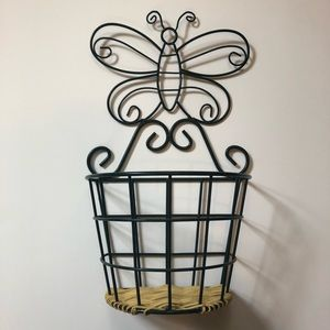 Butterfly Decoration and Storage Basket :